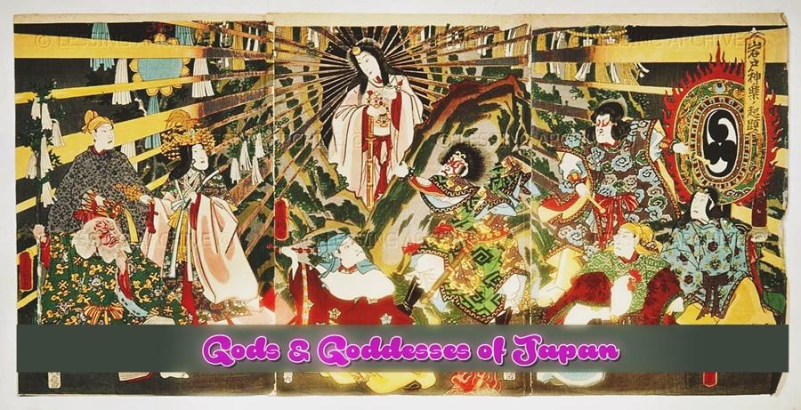 Gods and Goddesses of Japan